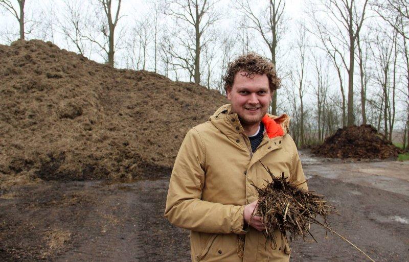 Leendert Jan Onnes, akkerbouwer in Finsterwolde