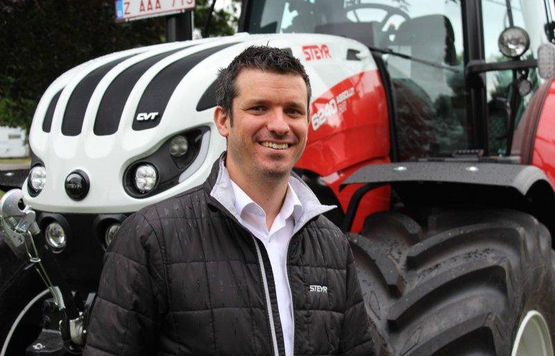 Tjörven van de Velde is de nieuwe directeur voor de businessunit van Steyr Benelux.