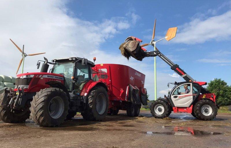 Melkveehouder Wim Bos en zijn vader werken al sinds 2007 met verreikers.