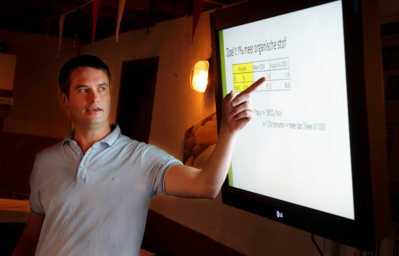 Thierry Stokkermans presenteerde onlangs de resultaten.
