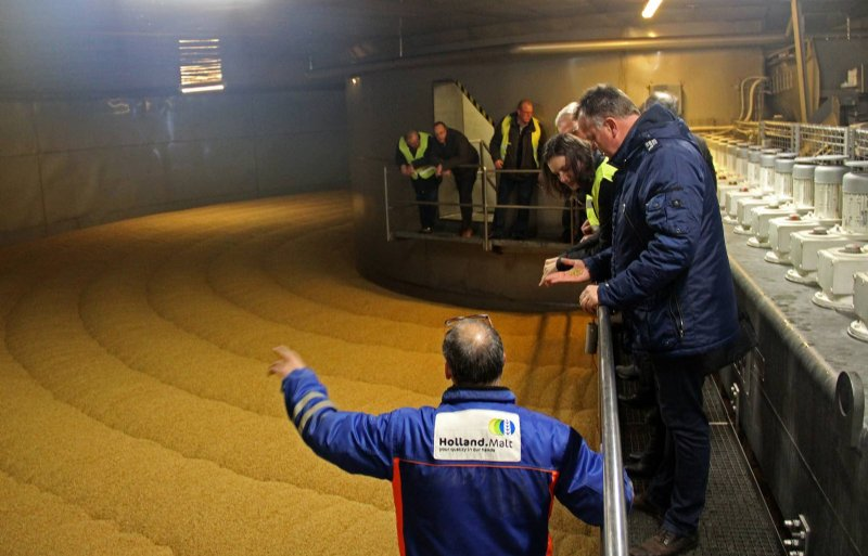 Holland Malt breidt de mouterij in de Eemshaven uit.